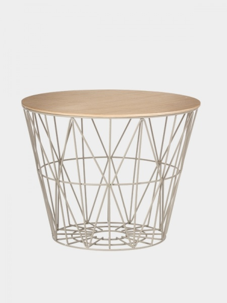 ferm living bord Ferm Living Wire Basket Top   Mitt Hjem As ferm living bord
