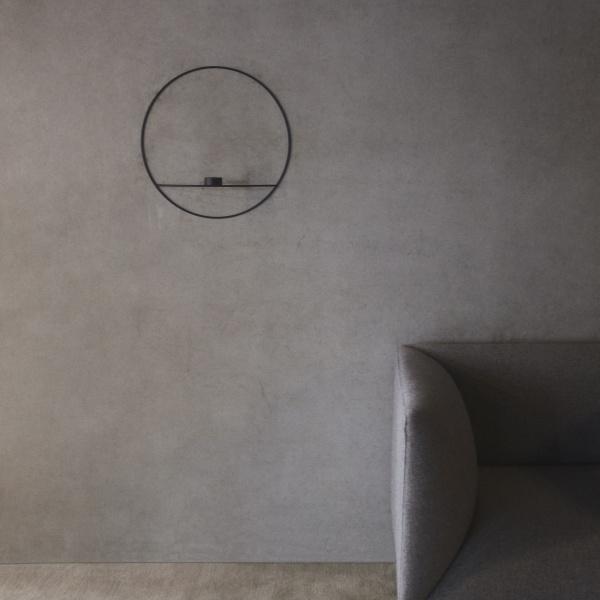 Wonderful Menu POV Circle lysholder vegg messing large - Mitt Hjem As VG-82