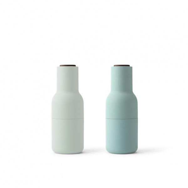 Oppdatert Menu Bottle Grinder Moss Greens m/valnøtt topp - Mitt Hjem As FQ-56